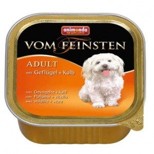 Animonda vom Feinsten Dog Adult Drób i Cielęcina 150g