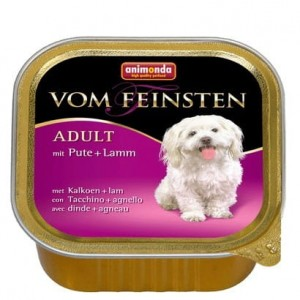 Animonda vom Feinsten Dog Adult Indyk i Jagnięcina 150g