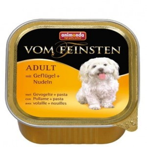 Animonda vom Feinsten Dog Adult Drób i Makaron 150g
