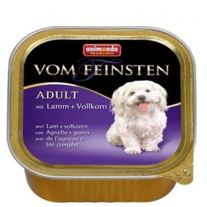 Animonda vom Feinsten Dog Adult Jagnięcina i Ziarna 150g