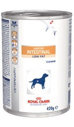 Royal Canin Veterinary Diet Canine Gastrointestinal Low Fat puszka 410g