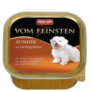 Animonda vom Feinsten Dog Junior Wątróbka drobiowa 150g