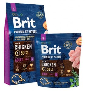 Brit Premium By Nature Adult S Small 8kg