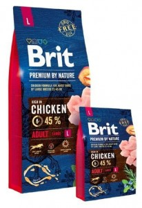 Brit Premium By Nature Adult L Large 8kg