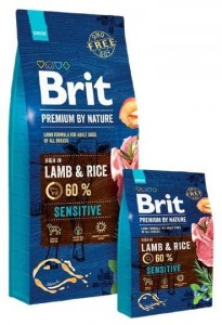 Brit Premium By Nature Sensitive Lamb 1kg