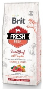 Brit Fresh Dog Puppy Large Beef & Pumpkin 12kg