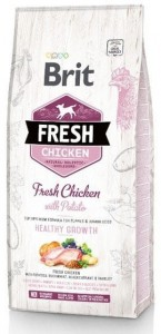 Brit Fresh Dog Puppy Chicken & Potato 2,5kg