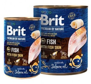 Brit Premium By Nature Fish & Fish Skin puszka 400g