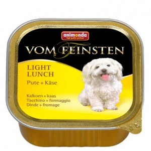 Animonda vom Feinsten Dog Light Lunch Indyk i Ser 150g