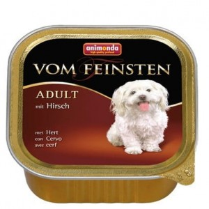 Animonda vom Feinsten Dog Adult Jeleń tacka 150g