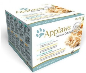 Applaws puszki dla kota Multipack Mixed 12x70g
