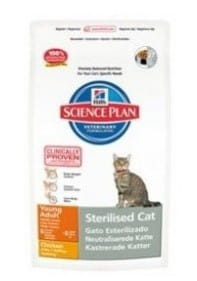 Hill's Science Plan Feline Young Adult Sterilised Cat Chicken 300g