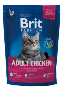 Brit Premium Cat New Adult Chicken 300g