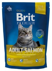 Brit Premium Cat New Adult Salmon 1,5kg