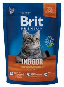 Brit Premium Cat New Indoor 1,5kg