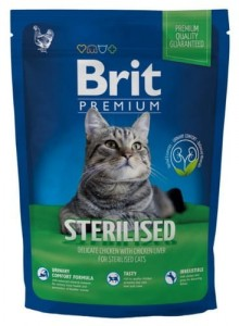 Brit Premium Cat New Sterilised 800g