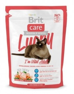 Brit Care Cat New Lucky I'm Vital Adult 400g
