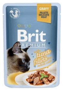 Brit Premium Cat Fillets with Tuna sos saszetka 85g