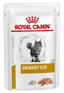 Royal Canin Veterinary Diet Feline Urinary S/O in loaf saszetka 85g