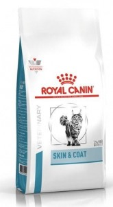 Royal Canin Veterinary Care Nutrition Feline Skin & Coat 400g