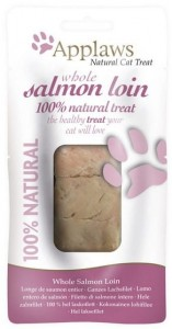 Applaws Natural Cat Loin Suszona polędwica z łososia 30g