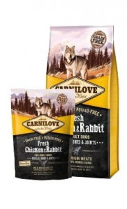 Carnilove Dog Fresh Chicken & Rabbit Adult - kurczak i królik 12kg