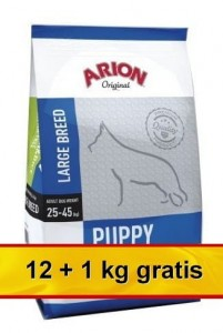 Arion Original Puppy Large Chicken & Rice 13kg (12+1kg gratis)